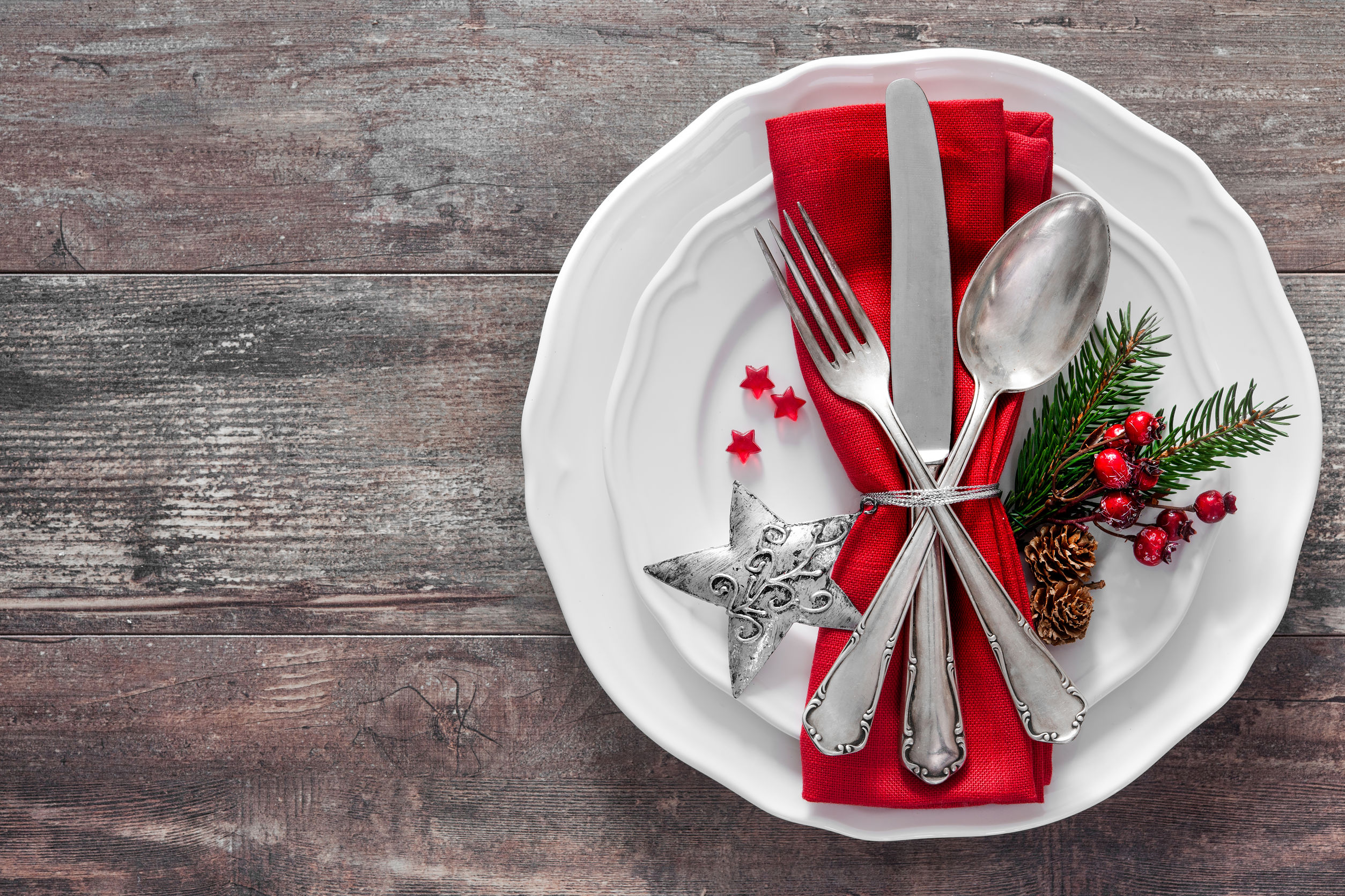 Christmas Dinner for Two