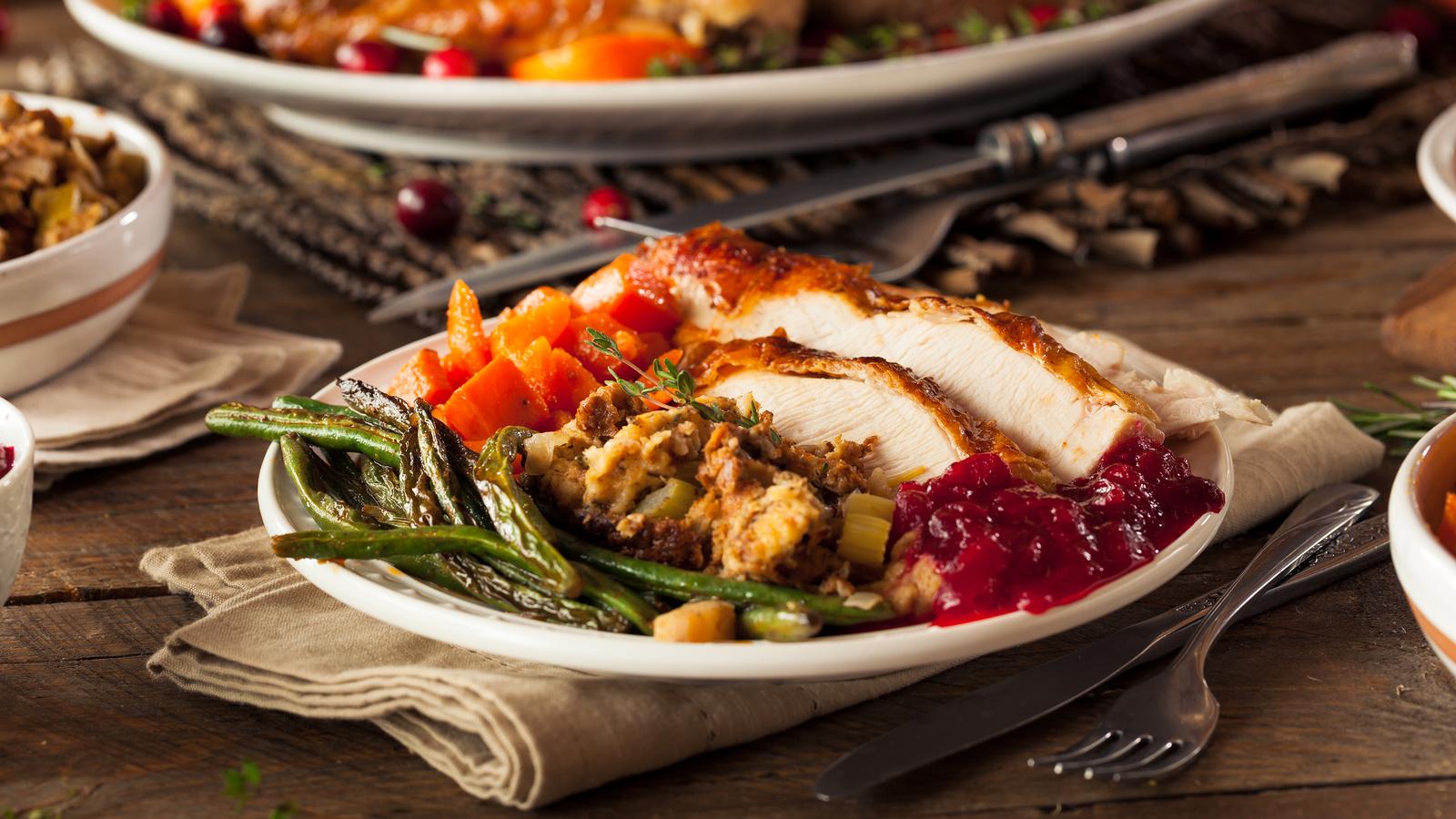 Takeaway Turkey Dinner