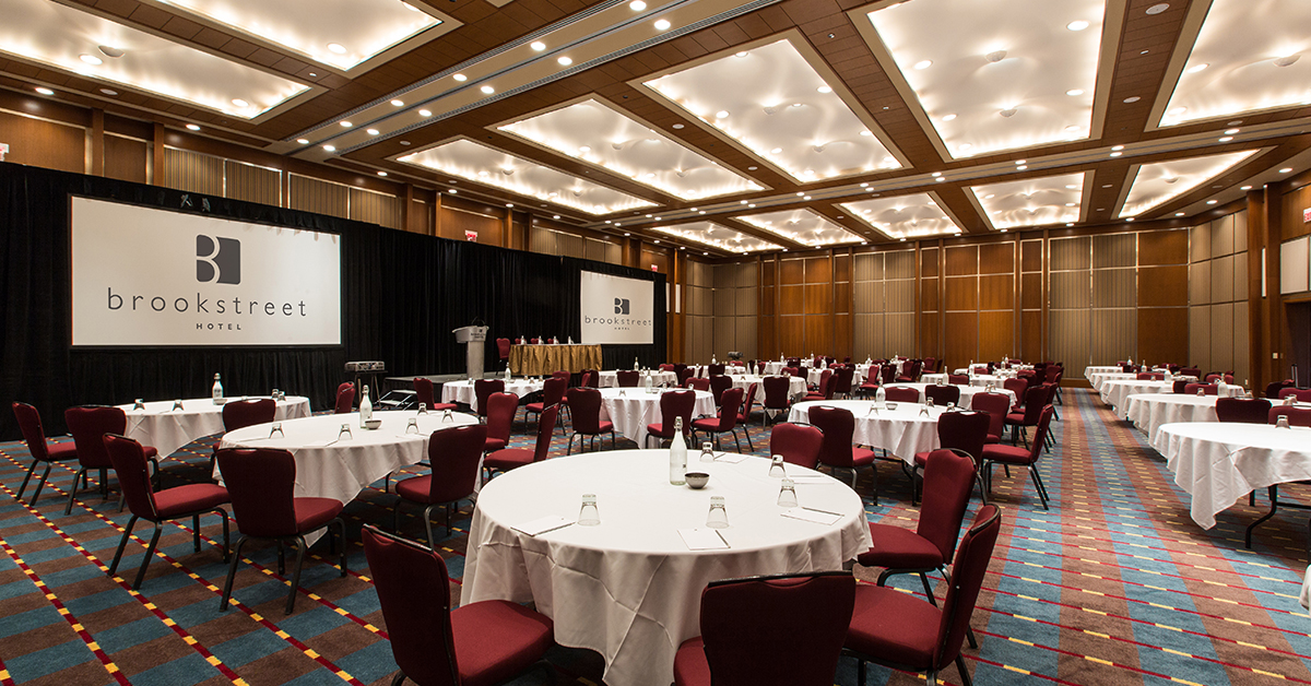 Ottawa Events Amp Celebrations Brookstreet Hotel