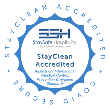 StaySafe Hospitality StayClean Accresited
