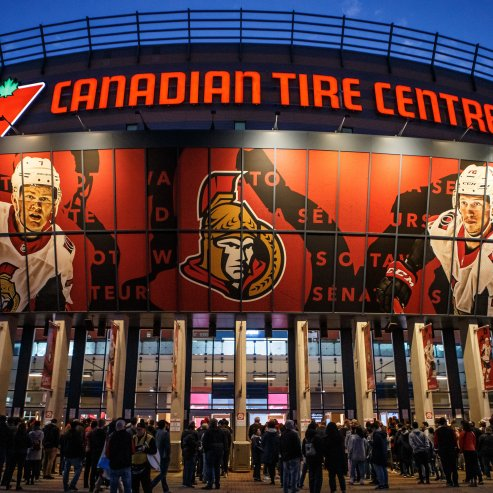 Sens Overnight Ticket Package